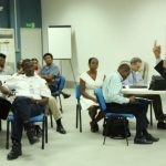Mohit Mukherjee teaches 'Designing Your Life' to the UN Mission in Haiti.