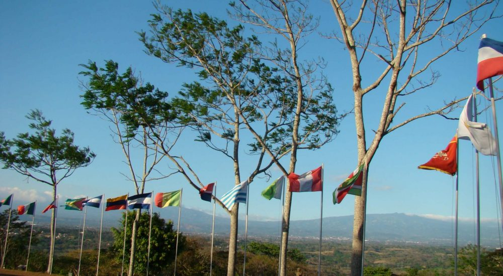 flags UPEACE