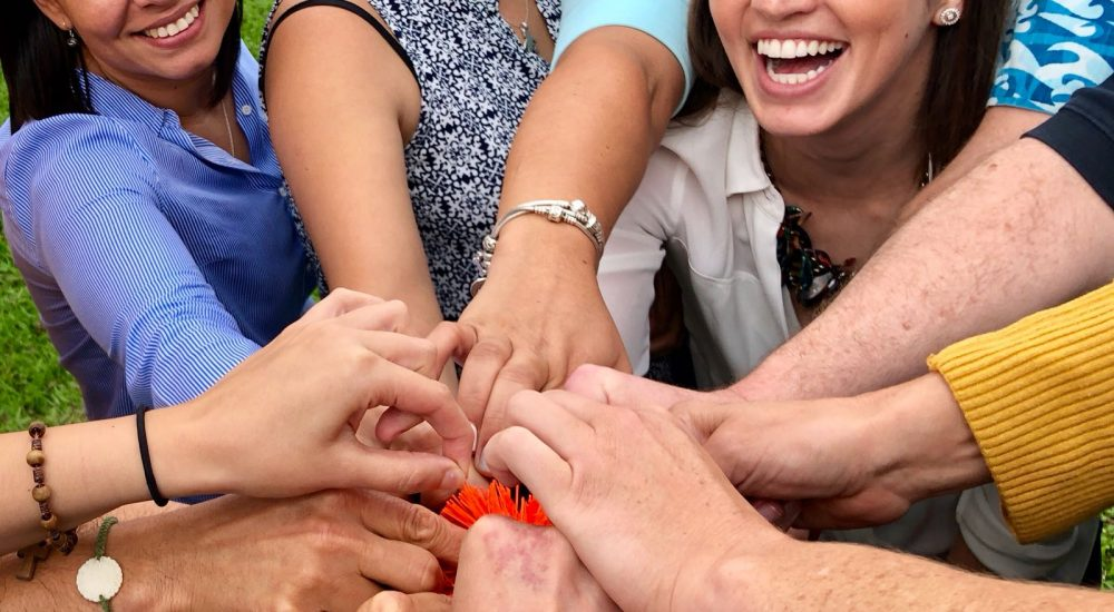 group-hands